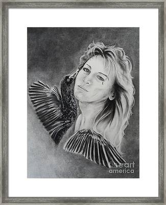 Inside Out Framed Print by Carla Carson