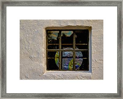 Inside Space Framed Print by Odd Jeppesen