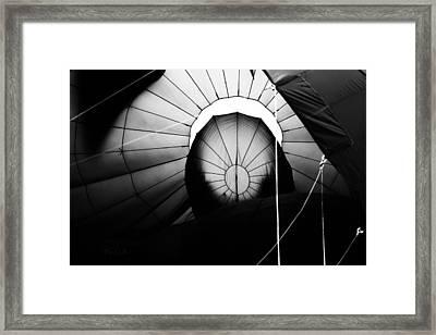 Inside The Balloon Framed Print by Bob Orsillo