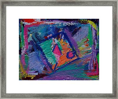 Inside The Box Framed Print by Karin Eisermann