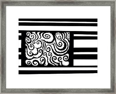 Inside The Box Framed Print by Mandy Shupp