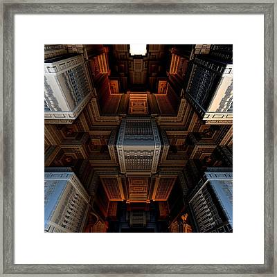 Inside The Box Framed Print by Ricky Jarnagin