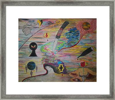 Inside The Evening  Framed Print by Todd Breitling