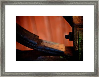 Inside The Skin Framed Print by Odd Jeppesen