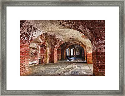 Inside The Walls Framed Print by Garry Gay