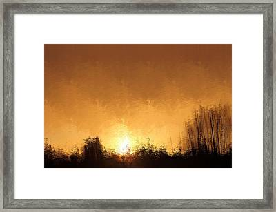 Framed Print featuring the mixed media Insomnia 1 by Terence Morrissey