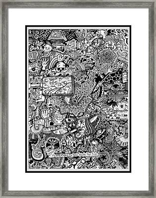 Insomnia Framed Print
