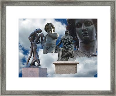 Inspiration And Creation Framed Print