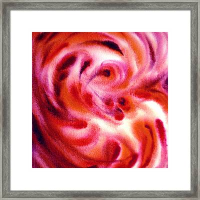Inspiration Three C Framed Print by Irina Sztukowski