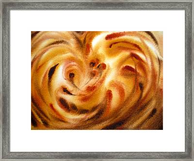 Inspiration Three Framed Print by Irina Sztukowski