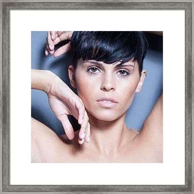 #instadaily #love #instagramers #hair Framed Print