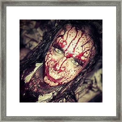 #instagood #iphonesia #photooftheday Framed Print by Torbjorn Schei