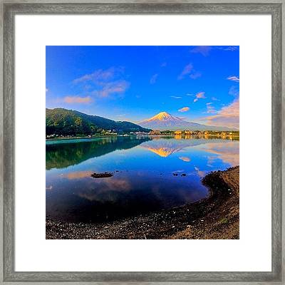 #instawow #instagood #instamood Framed Print by Tommy Tjahjono
