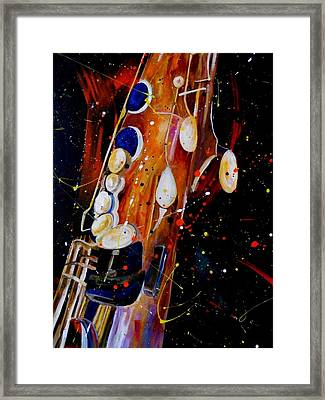 Instrument Of Choice Framed Print