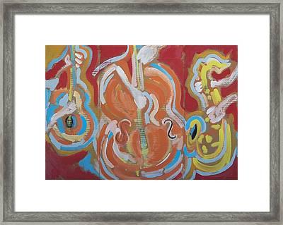 Instrumentalia Framed Print by Jay Manne-Crusoe