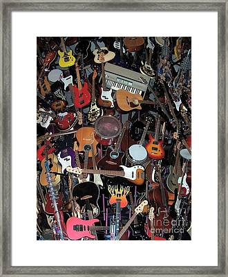 Instruments Framed Print by Chalet Roome-Rigdon