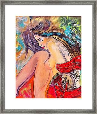 Intangible Feeling Framed Print by Niloufar Hoveyda
