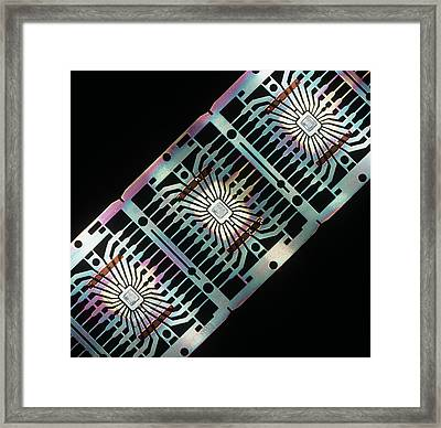 Integrated Circuits Framed Print by Pasieka
