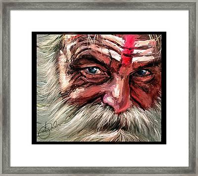 Intense Framed Print by Kiran Kumar