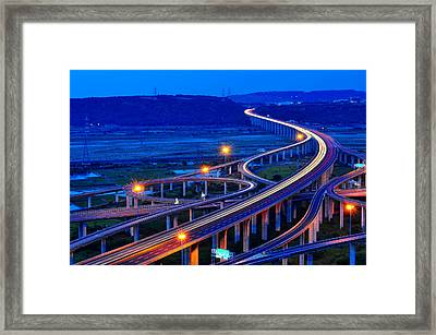 Interchange Framed Print by Photo by Vincent Ting