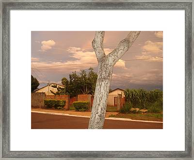 Framed Print featuring the photograph Interference by Beto Machado