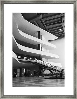 Interior Architecture Framed Print by George Marks