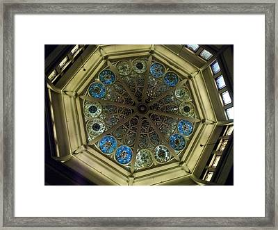 Interior Color Framed Print by Brianna Thompson