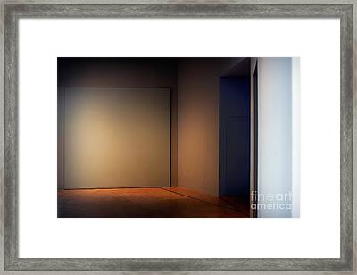 Interior Corner Framed Print by Susan Isakson