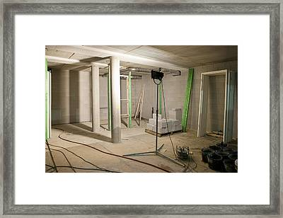 Interior Of An Apartment. A Residential Framed Print by Corepics