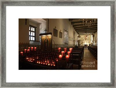Interior Old Mission Framed Print by Bob Christopher