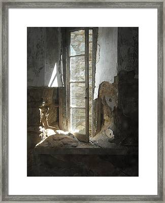 Framed Print featuring the photograph Interior Window by Christophe Ennis