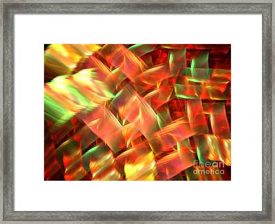 Interlocking Framed Print
