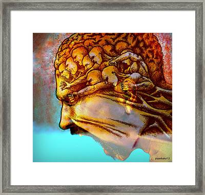 Internal Restlessness Eternal Framed Print by Paulo Zerbato