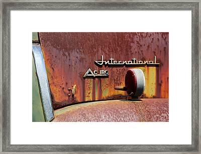International Ac 180 Framed Print by Lisa Moore
