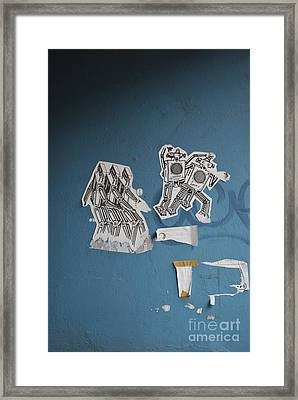 International Robots Framed Print