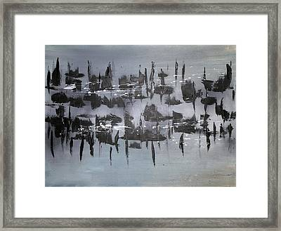 Interruption Framed Print by Eric Chapman