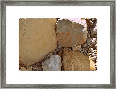 Intersection Framed Print by Diane montana Jansson