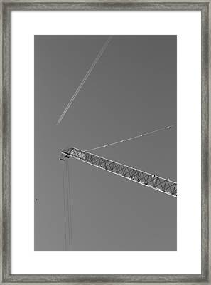 Intersection Framed Print by Kevin Bates