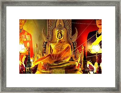 Intertwined Framed Print by Dean Harte