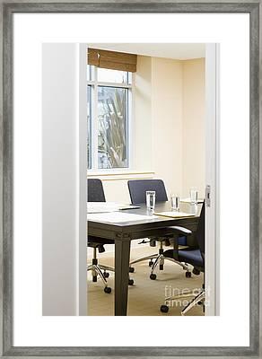 Interview Room Framed Print by Andersen Ross