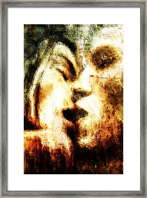 Intimity Framed Print by Andrea Barbieri