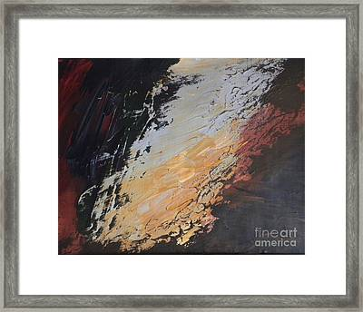 Into The Abyss Framed Print