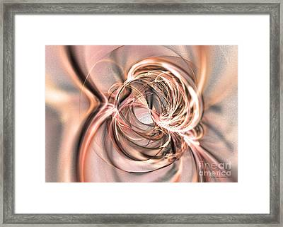 Into The Cosmos Framed Print by Abstract art prints by Sipo
