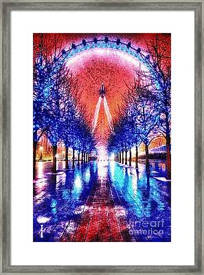 Into The Eye Framed Print