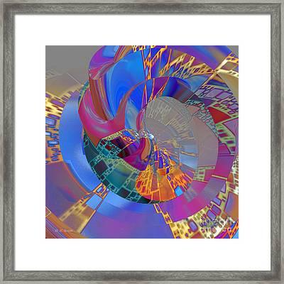 Into The Inner World Framed Print by Deborah Benoit
