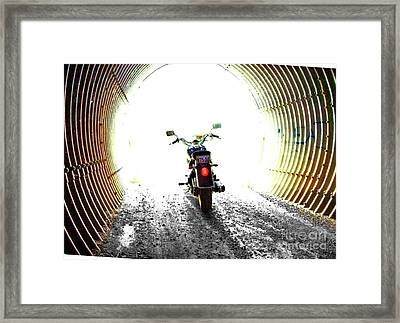 Framed Print featuring the photograph Into The Light by Blair Stuart