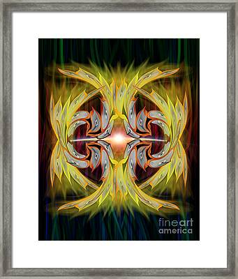 Into The Light Framed Print by Linda Seacord