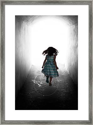 Into The Light Framed Print by Matt Dobson