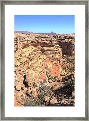 Into The Maze Framed Print by Scotts Scapes