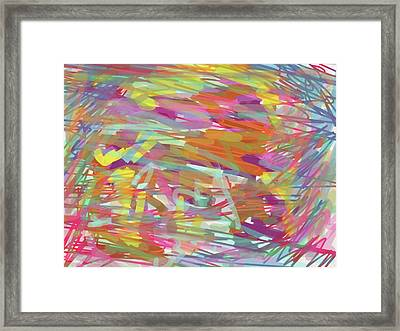 Into The Prism Tunnel Framed Print